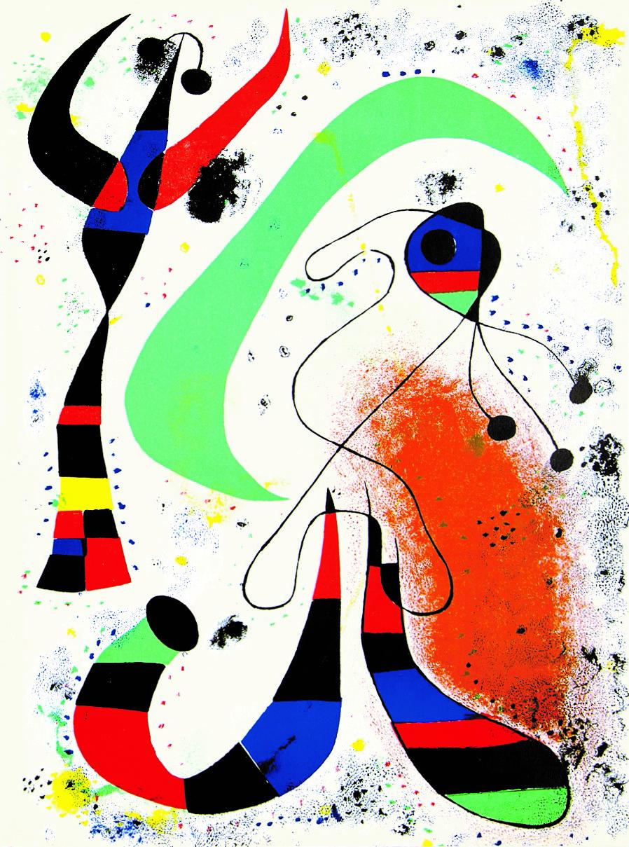 Joan Miró_Die Nacht © Joan Miró