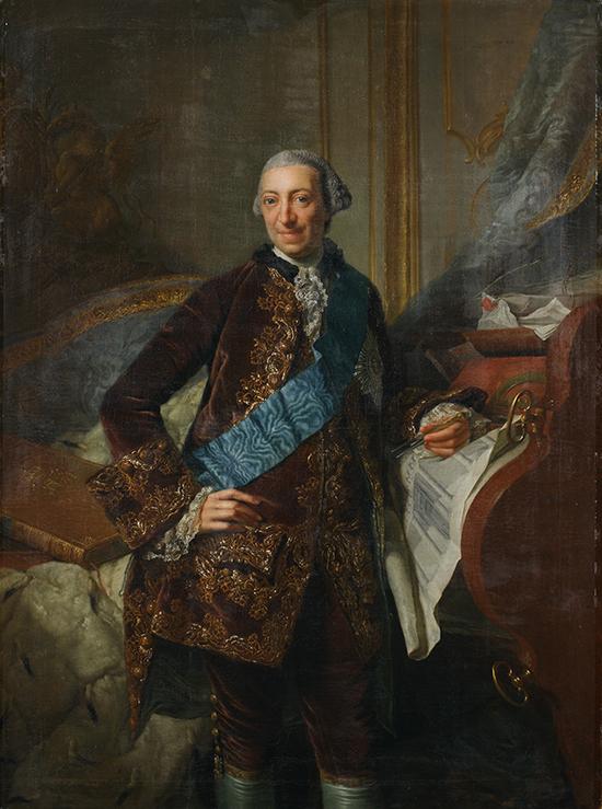 Georg David Matthieu, Herzog Friedrich von Mecklenburg-Schwerin, Detail © Staatliche Schlösser, Gärten und Kunstsammlungen Mecklenburg-Vorpommern