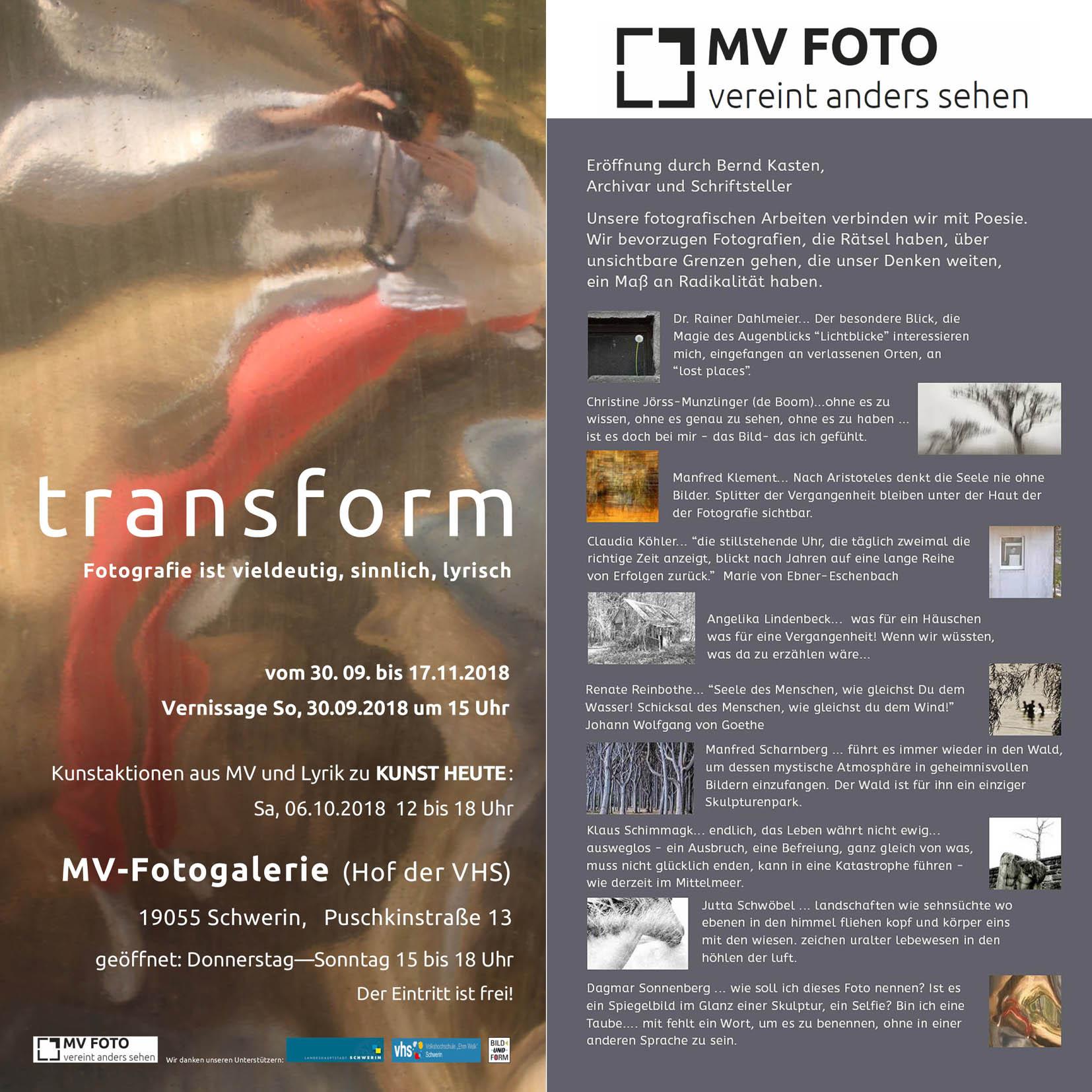 Flyer © MV-Foto e.V.