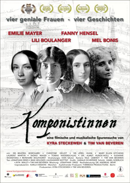 "Filmkunst/Kunstfilm ""Komponistinnen"" (D, 2018)"