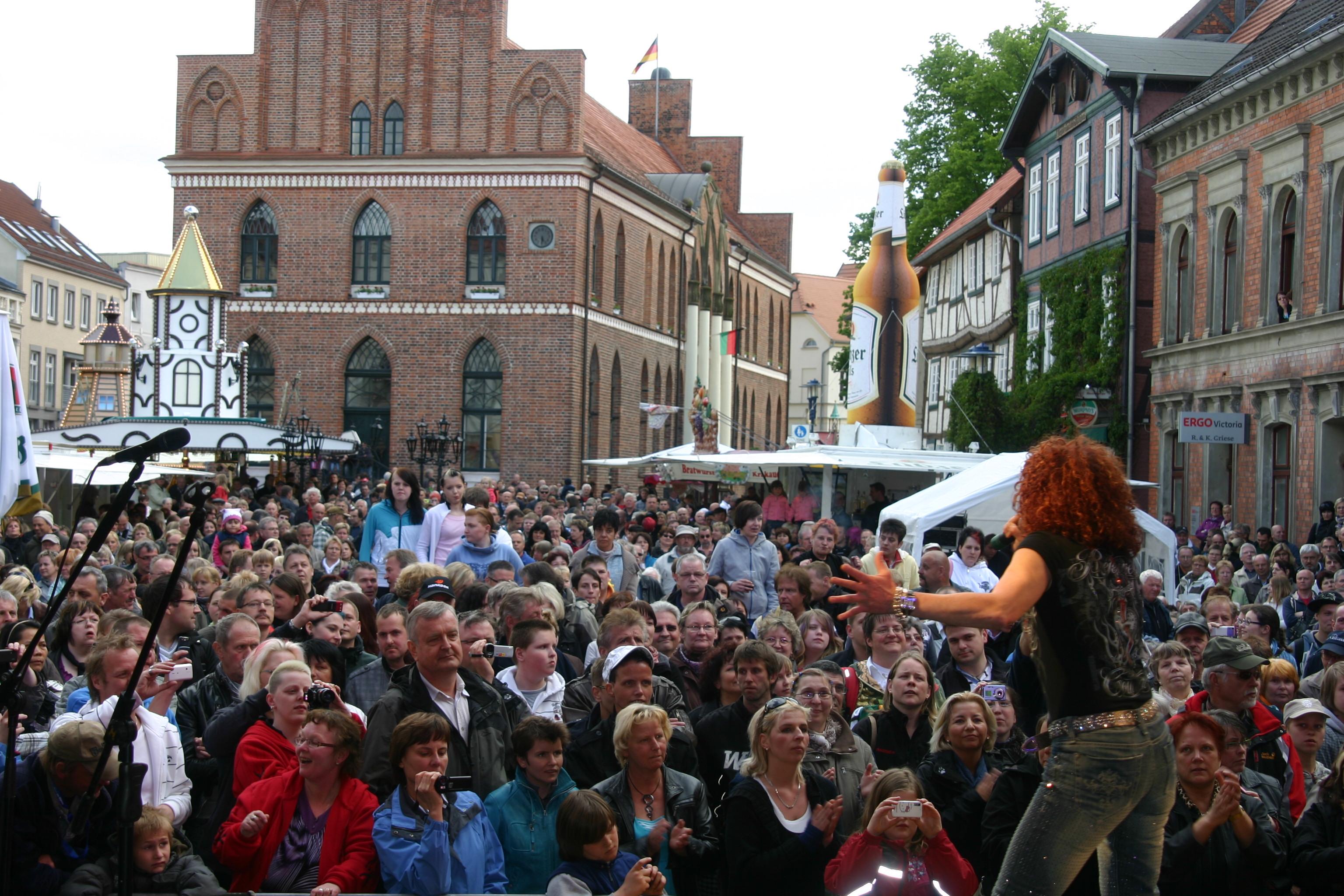 Stadtfest auf dem Alten Markt in Parchim © Stadt Parchim