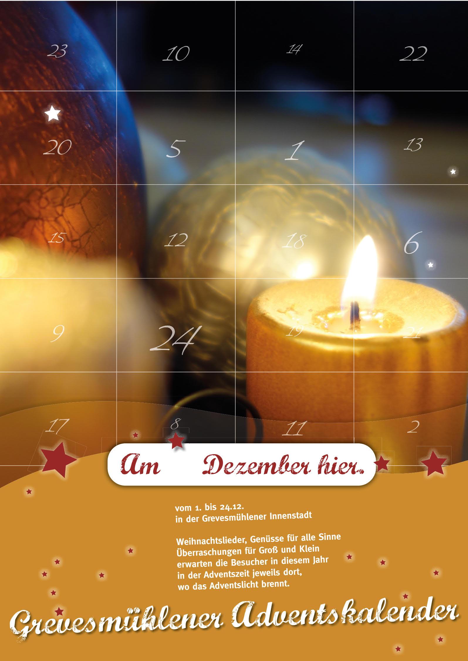 Lebender Adventskalender © Stadt Grevesmühlen