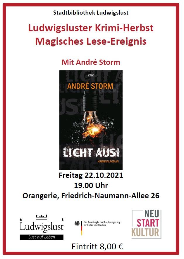 Magische Lesung © Stadt Ludwigslust