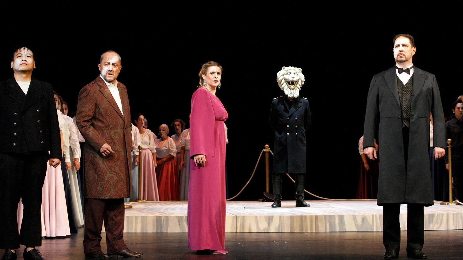 Otello © https://www.mecklenburgisches-staatstheater.de/startseite.html